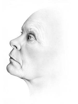 Cath Riley - faces:  profile