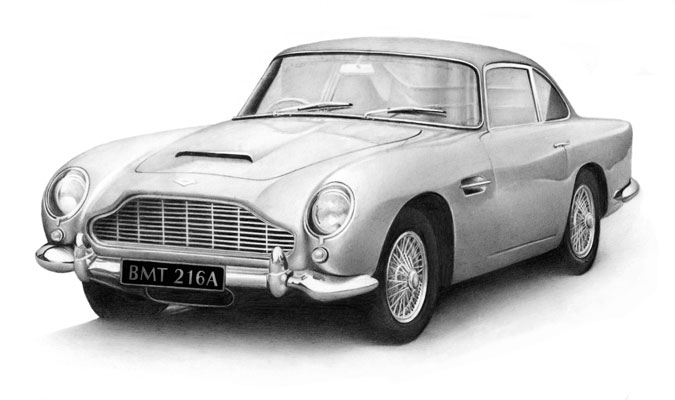 Cath Riley - miscellaneous:  Aston Martin