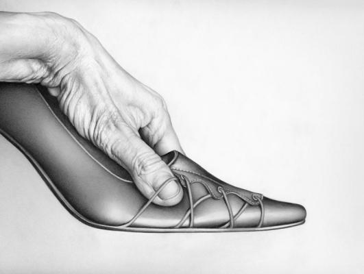 Cath Riley - For sale:  hand and shoe