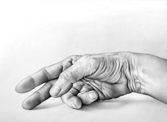 Cath Riley - hands:  prone hand