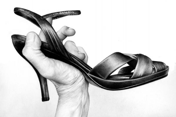 Cath Riley - hands:  shoe 3